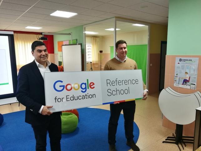 Escolapios Soria, un espacio  con el sello de Google